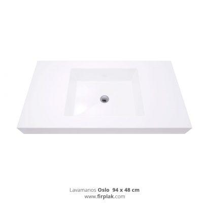 lavamanos OSLO-94x48-BLANCO